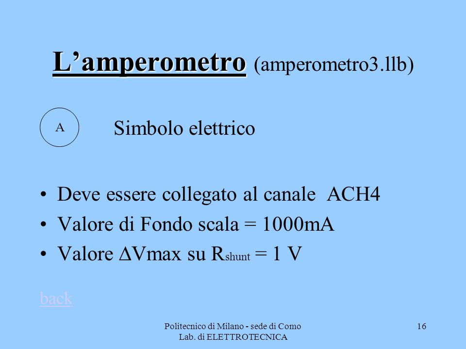 L'amperometro (amperometro3.llb)