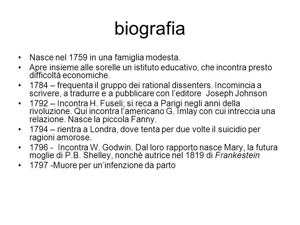 biografia Nasce nel 1759 in una famiglia modesta.