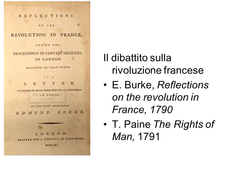 Il dibattito sulla rivoluzione francese