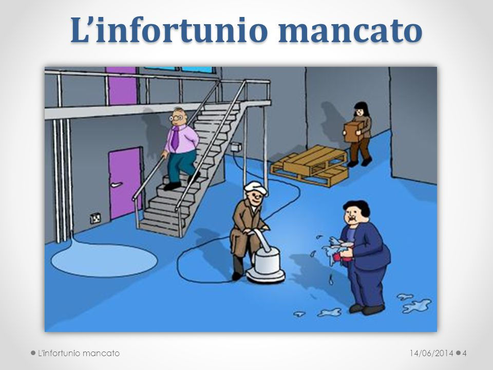 L'infortunio mancato L infortunio mancato 14/06/2014