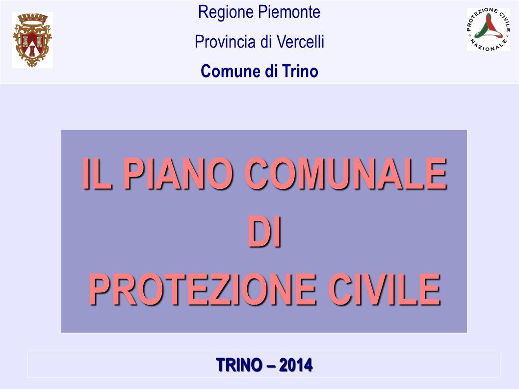 IL PIANO COMUNALE DI PROTEZIONE CIVILE