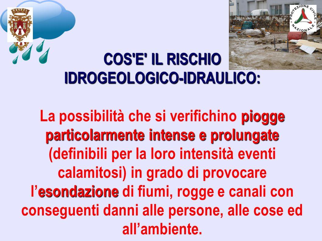IDROGEOLOGICO-IDRAULICO: