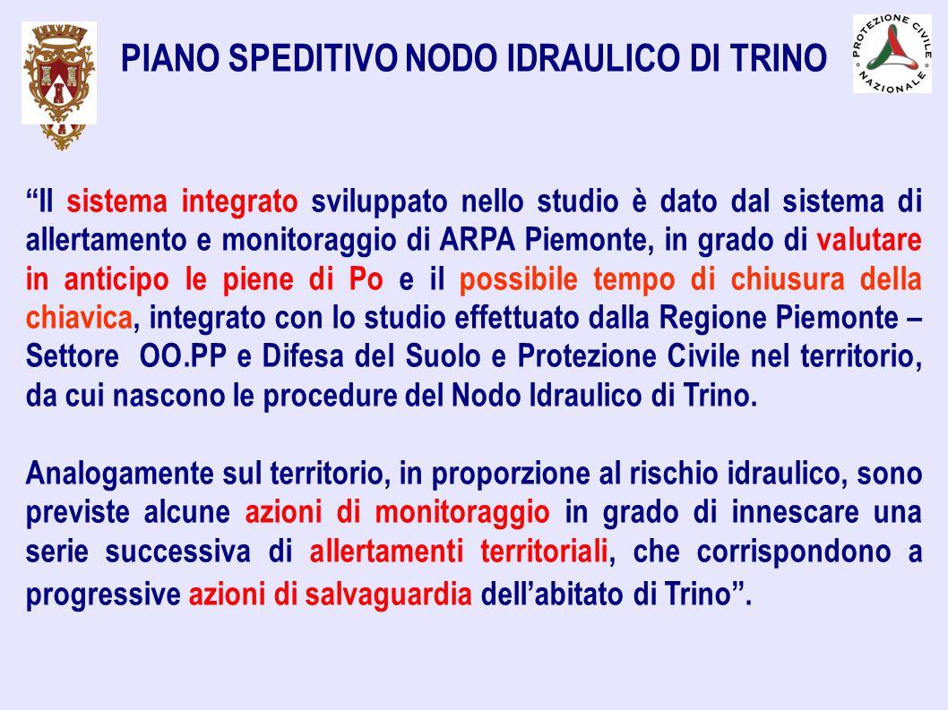 PIANO SPEDITIVO NODO IDRAULICO DI TRINO