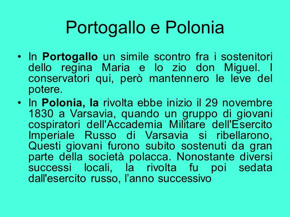 Portogallo e Polonia