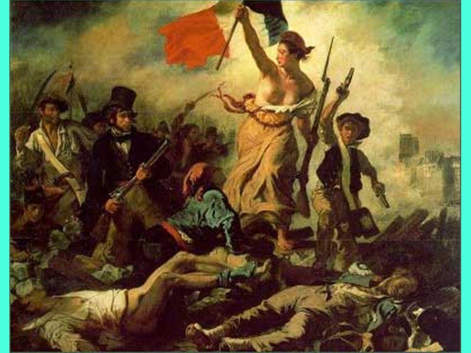 E. Delacroix, La libertà guida il popolo, 1830tfvg