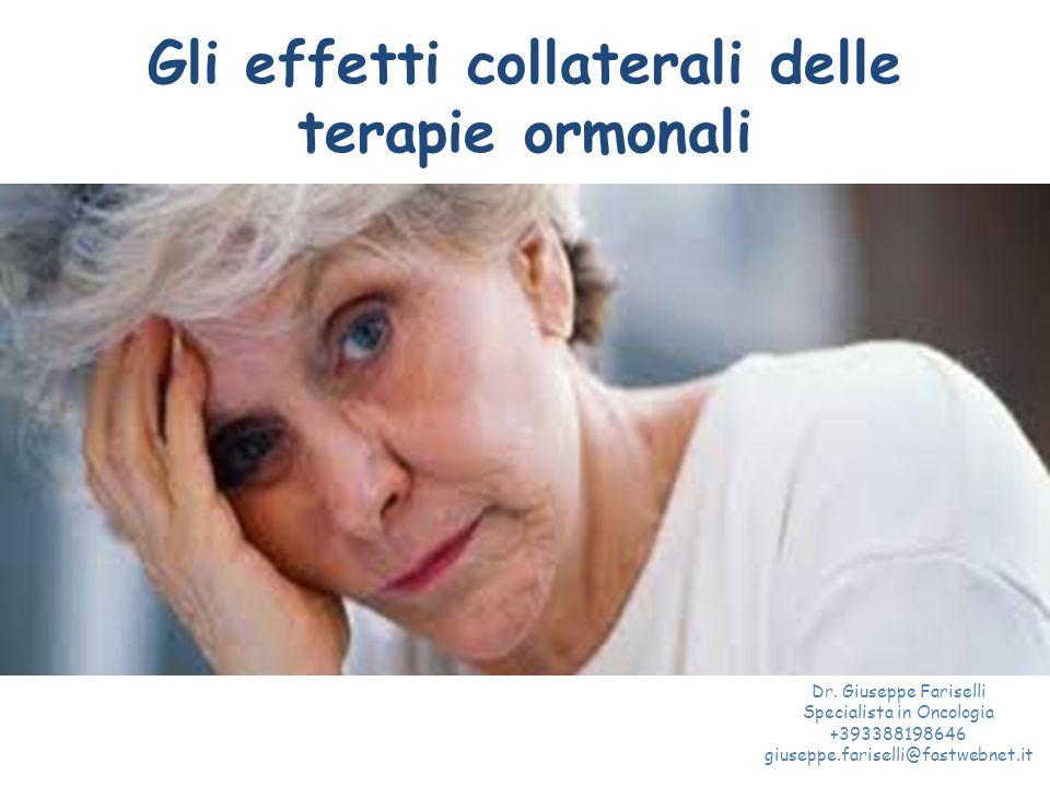 Gli effetti collaterali delle terapie ormonali