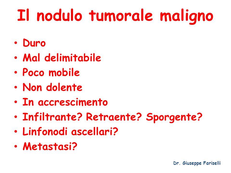 Il nodulo tumorale maligno