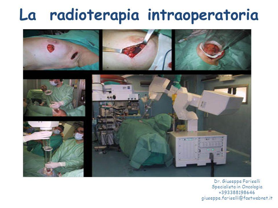 La radioterapia intraoperatoria