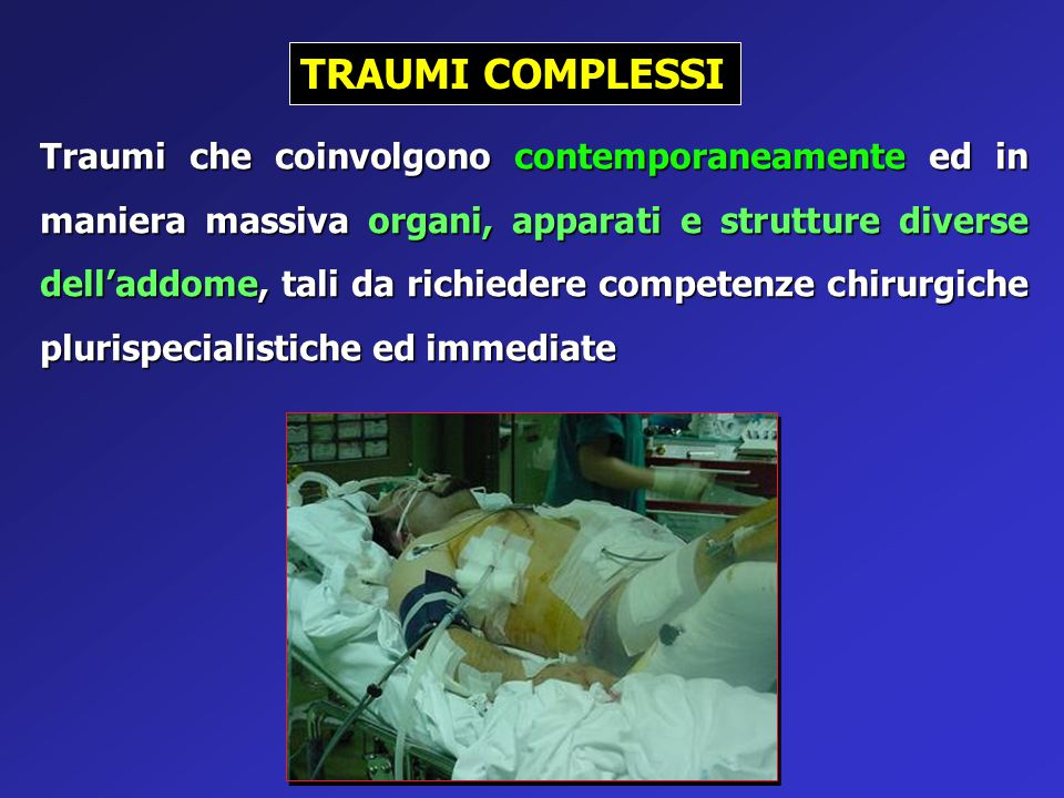 TRAUMI COMPLESSI