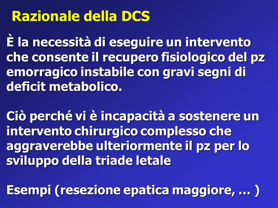 Razionale della DCS