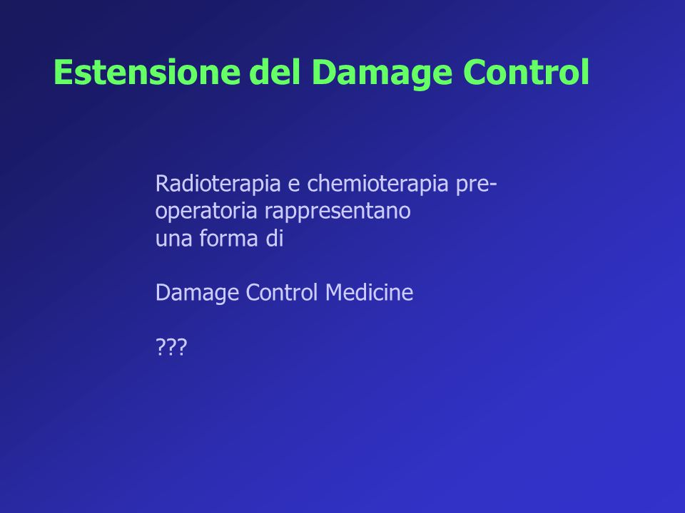 Estensione del Damage Control