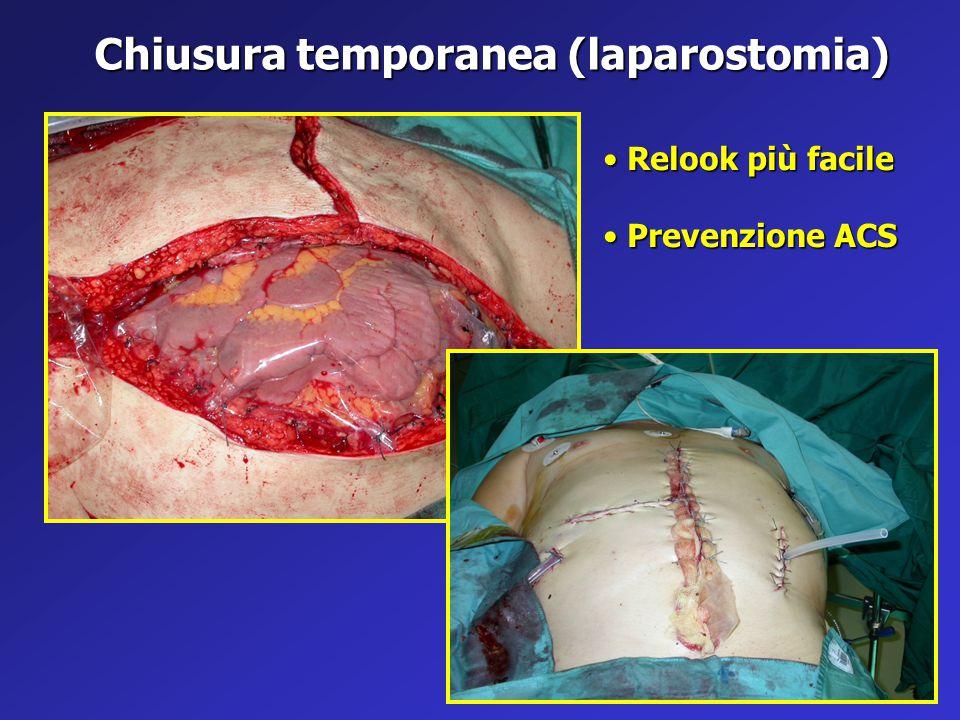 Chiusura temporanea (laparostomia)