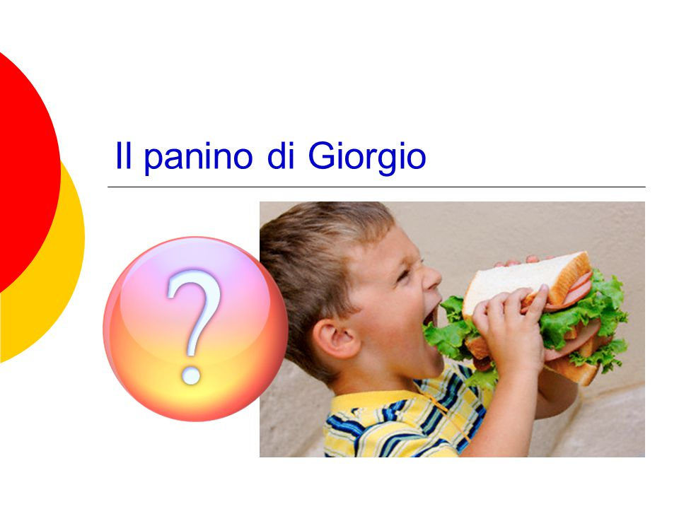 Il panino di Giorgio
