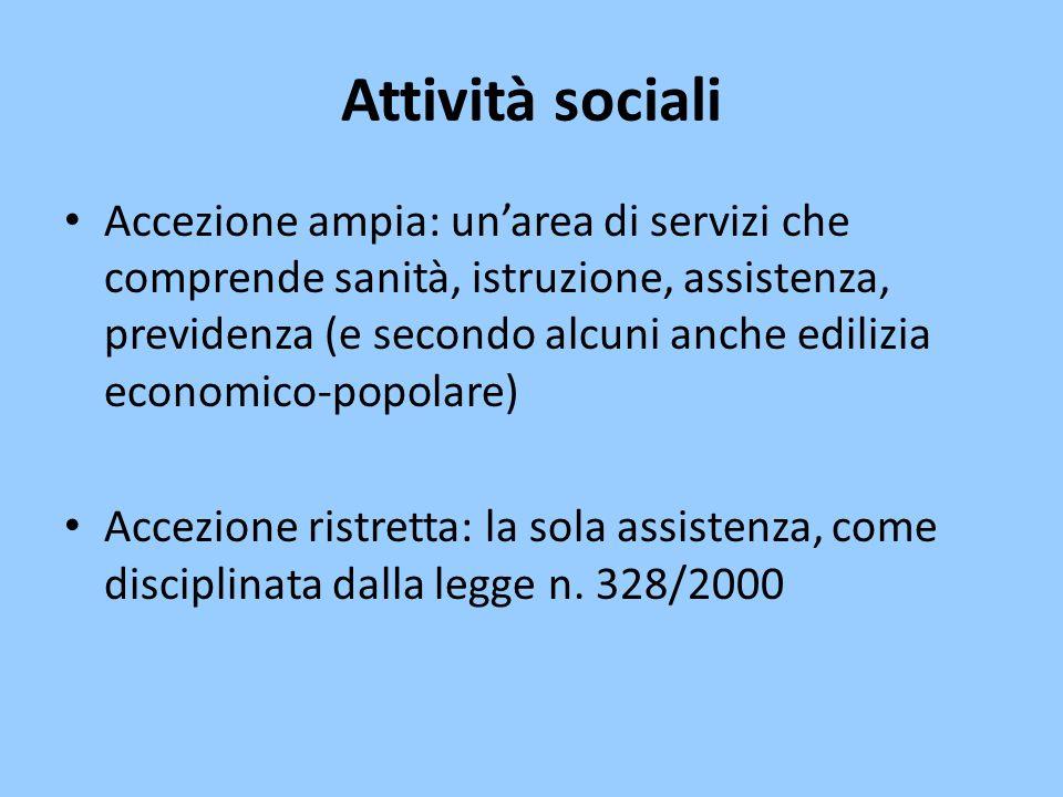 Attività sociali