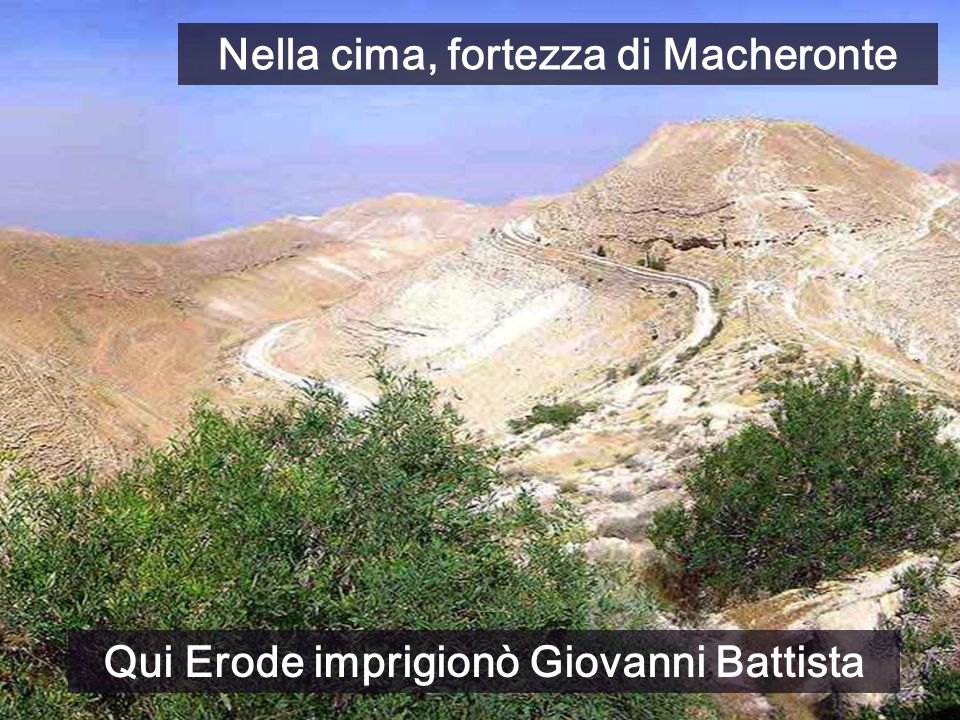 Nella cima, fortezza di Macheronte