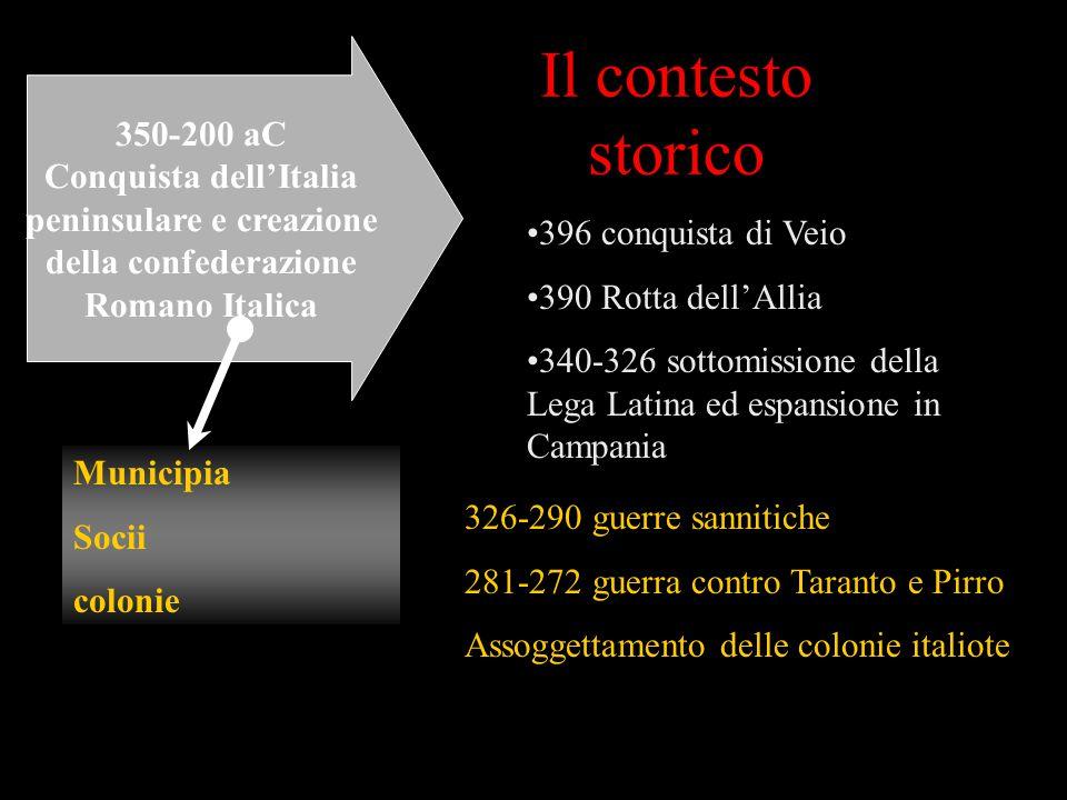 Conquista dell'Italia peninsulare e creazione