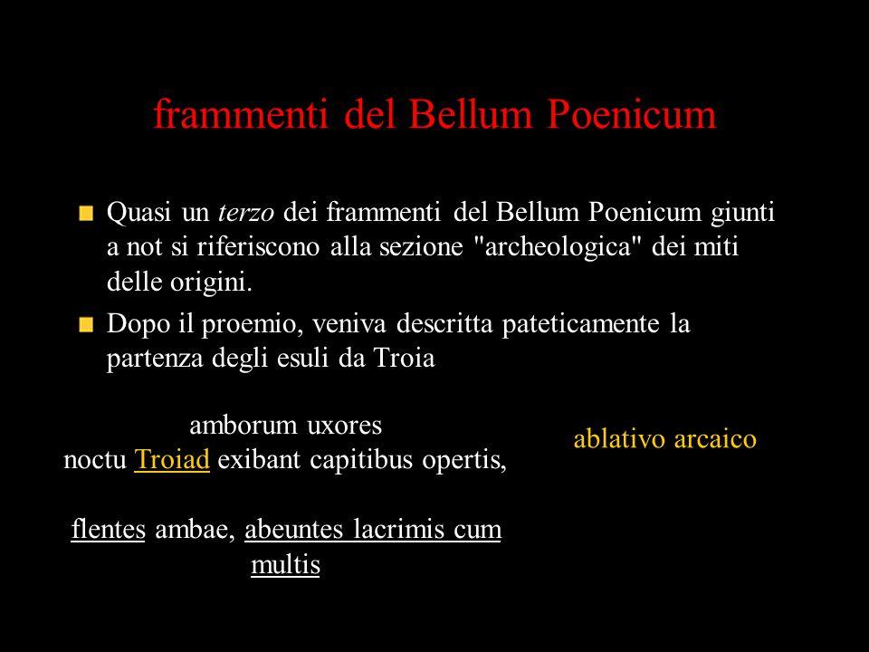 frammenti del Bellum Poenicum