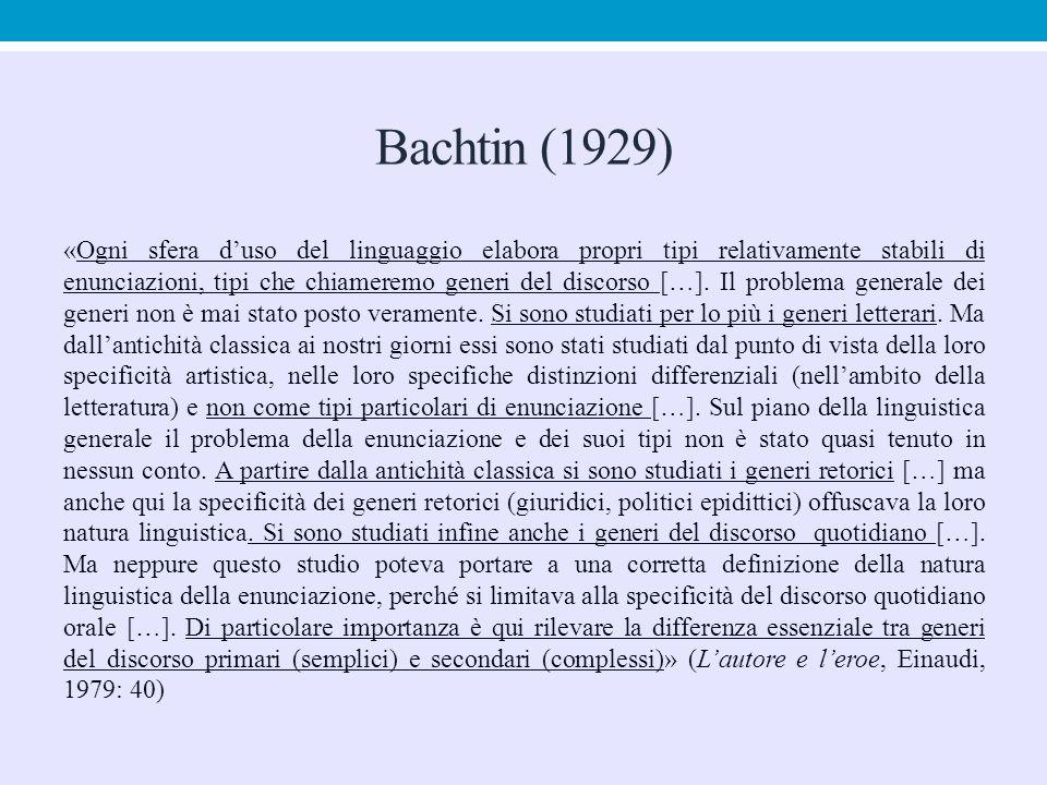Bachtin (1929)
