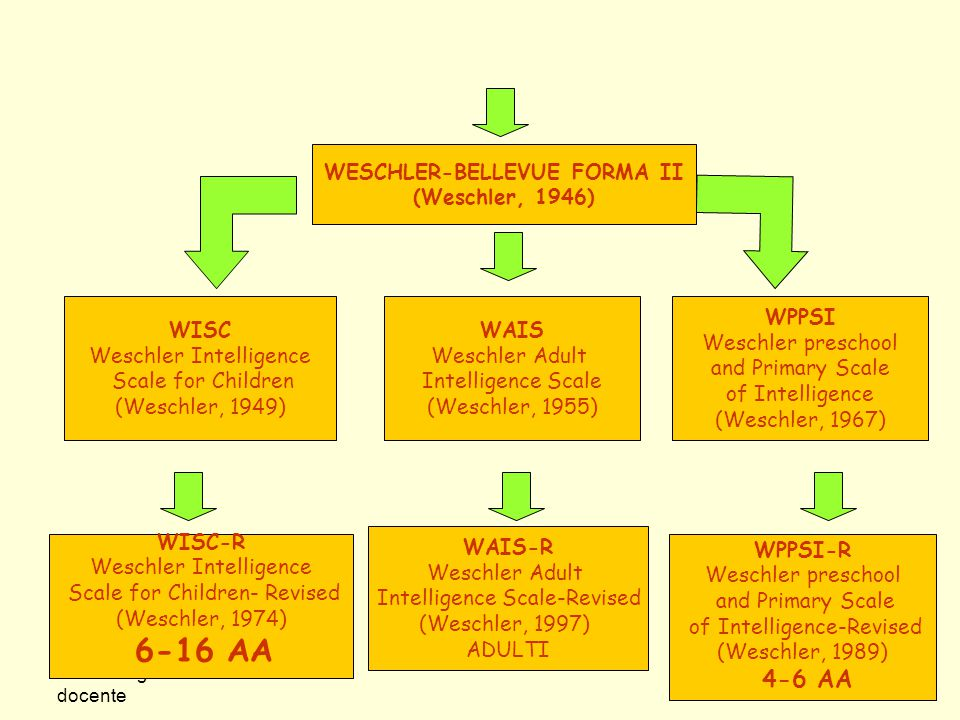 WESCHLER-BELLEVUE FORMA II