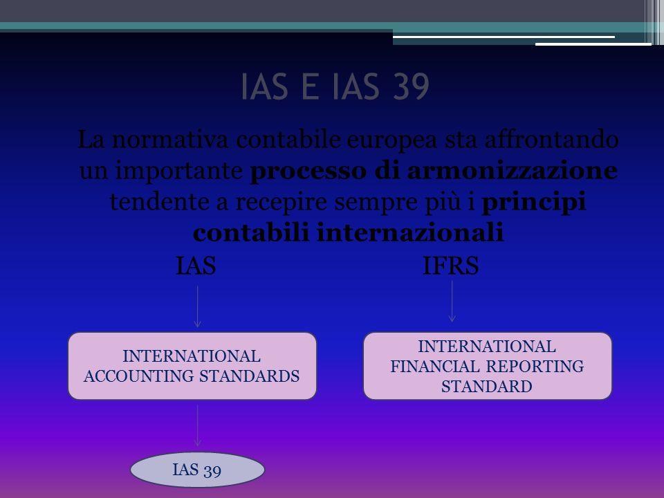 IAS E IAS 39