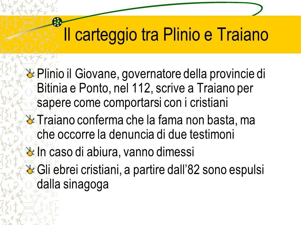 Il carteggio tra Plinio e Traiano