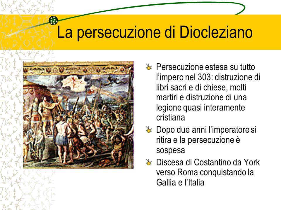 La persecuzione di Diocleziano