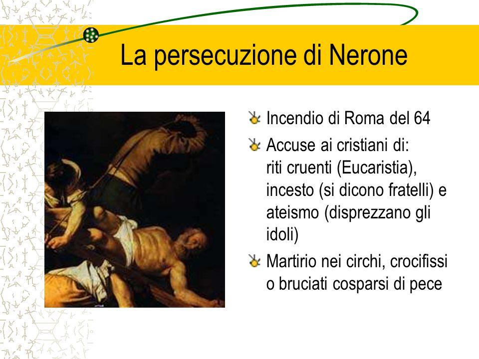 La persecuzione di Nerone