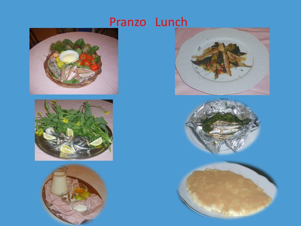 Pranzo Lunch
