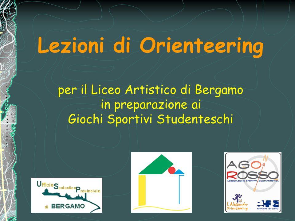 Lezioni di Orienteering per il Liceo Artistico di Bergamo in preparazione ai Giochi Sportivi Studenteschi