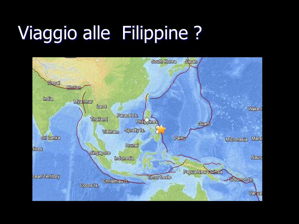 Viaggio alle Filippine