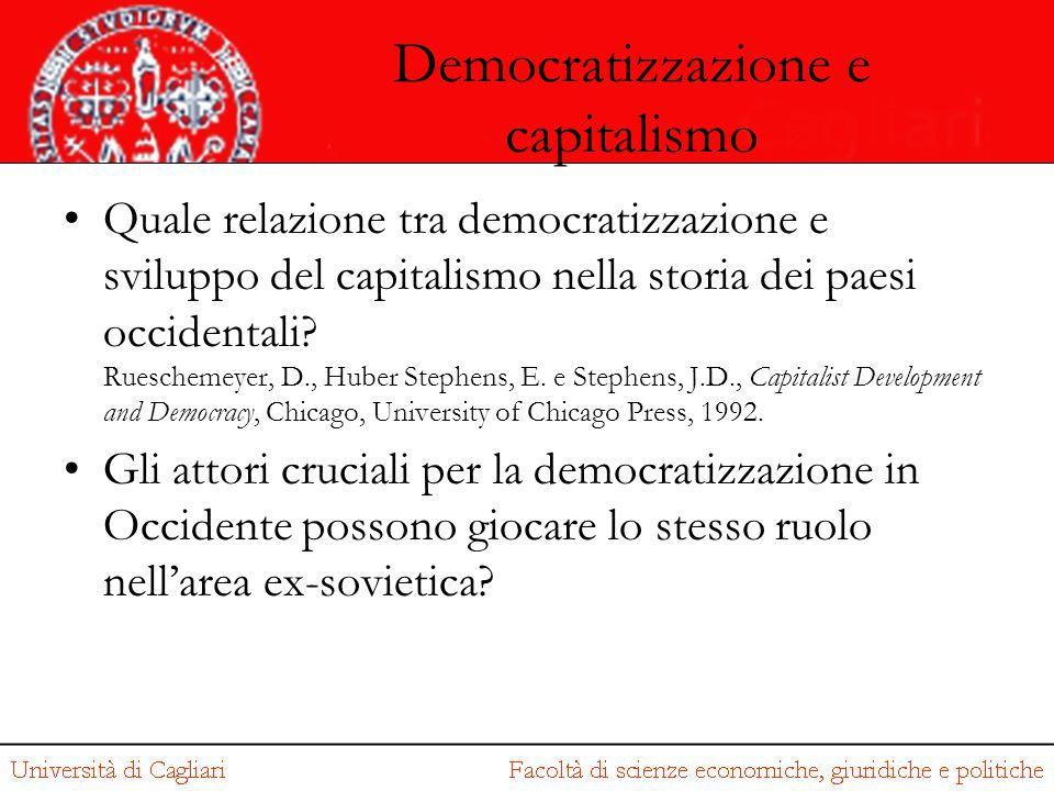 Democratizzazione e capitalismo