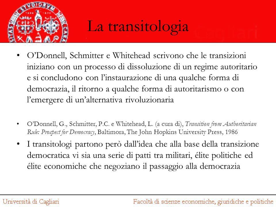 La transitologia