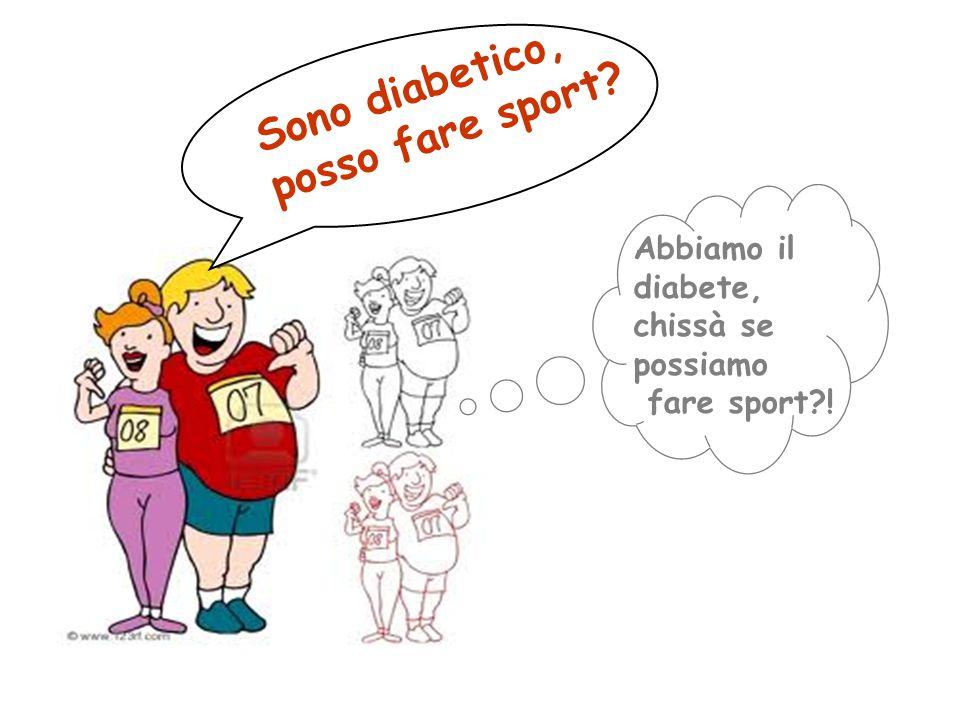 Sono diabetico, posso fare sport Abbiamo il diabete,