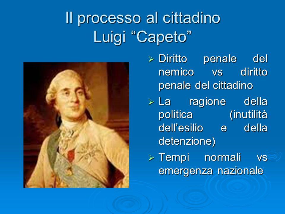 Il processo al cittadino Luigi Capeto