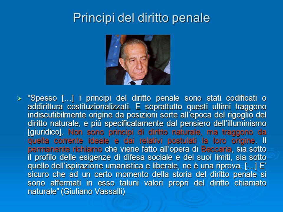 Principi del diritto penale