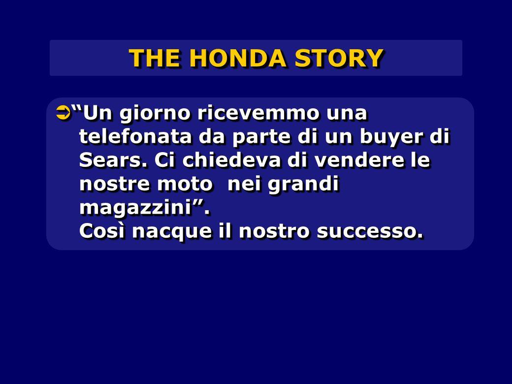 THE HONDA STORY