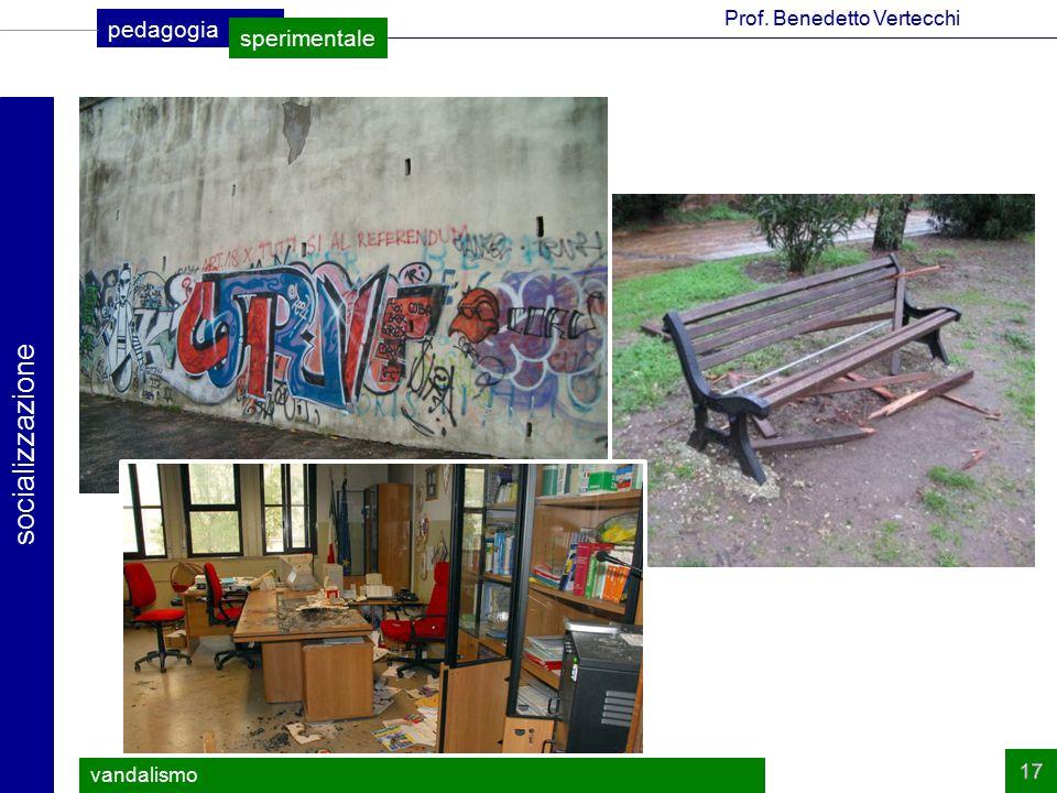 socializzazione vandalismo