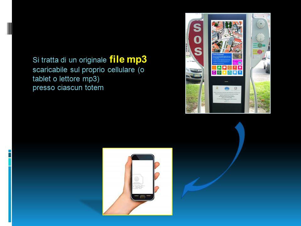 Si tratta di un originale file mp3 scaricabile sul proprio cellulare (o tablet o lettore mp3)