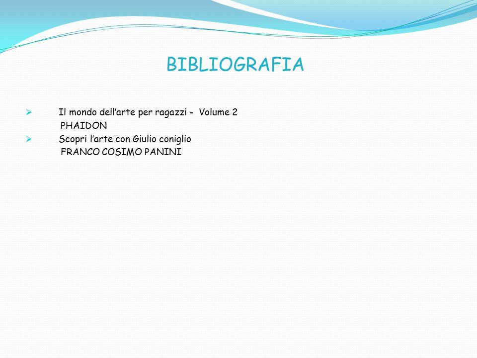 BIBLIOGRAFIA Il mondo dell'arte per ragazzi - Volume 2 PHAIDON