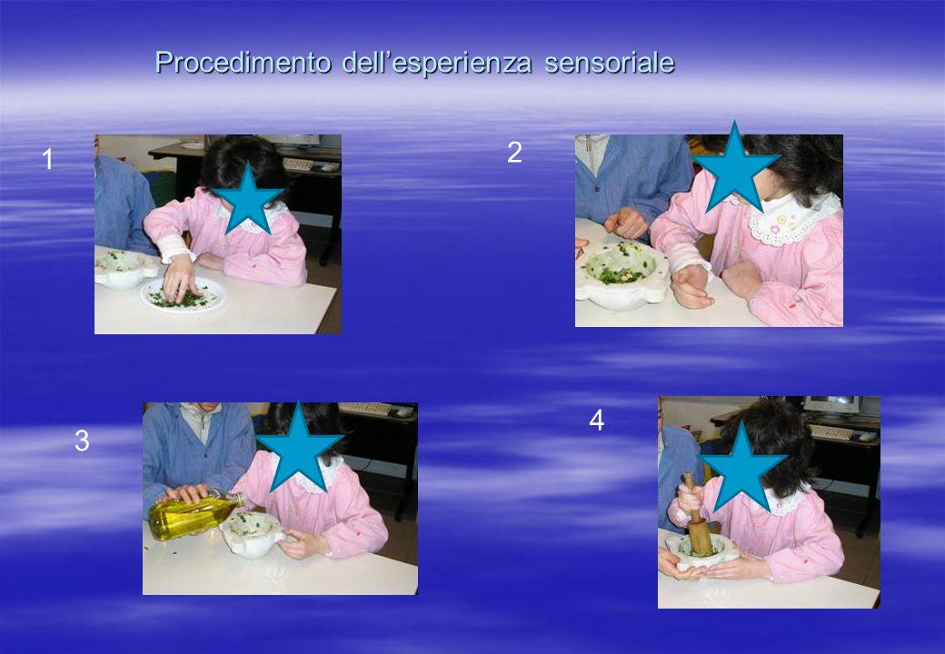 Procedimento dell'esperienza sensoriale