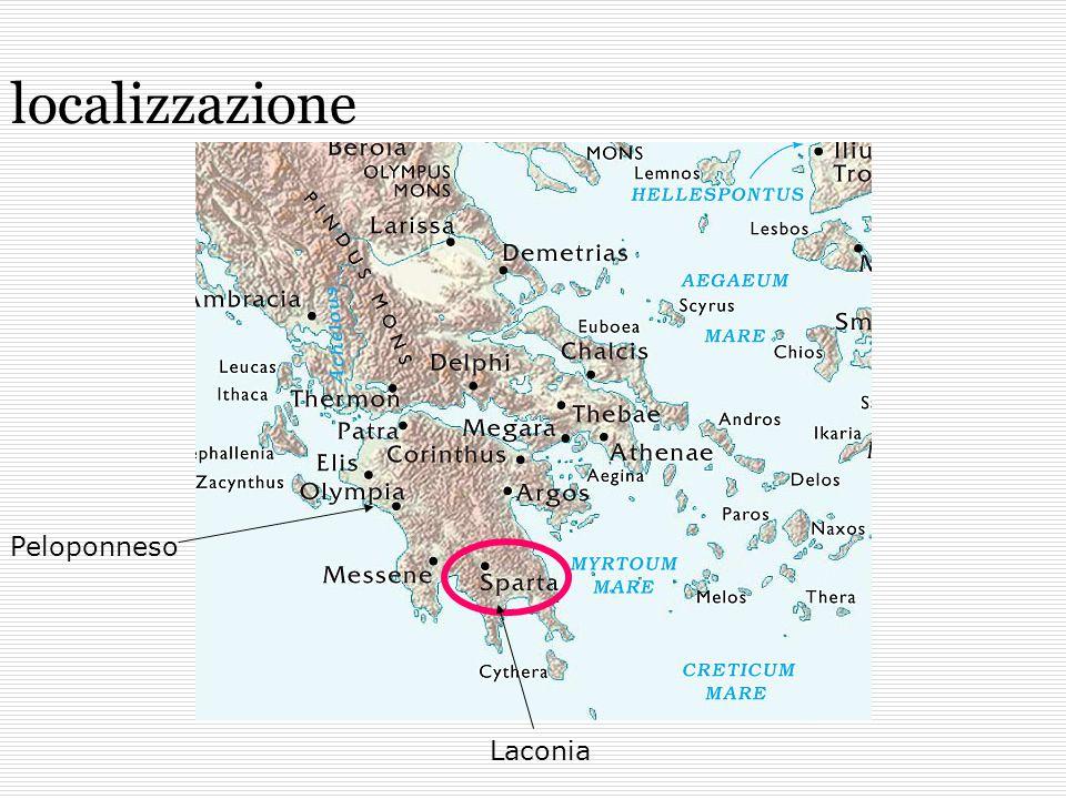 localizzazione Peloponneso Laconia