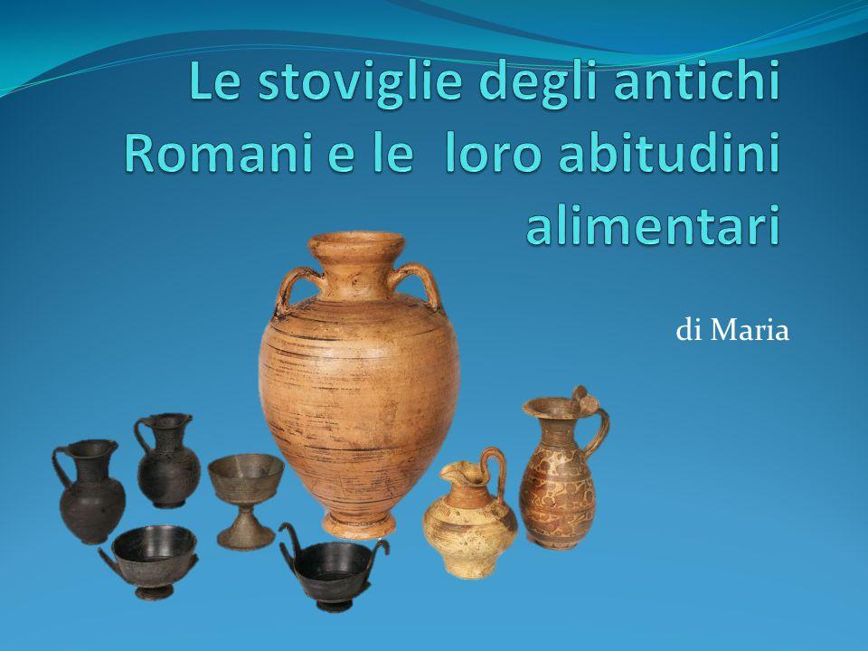 Le stoviglie degli antichi Romani e le loro abitudini alimentari