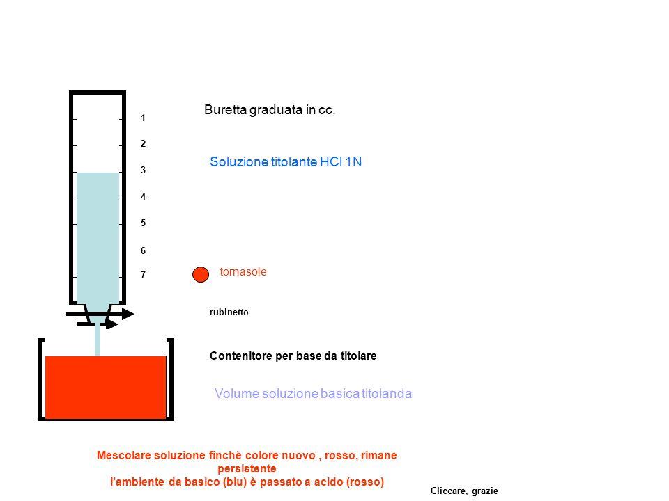Soluzione titolante HCl 1N