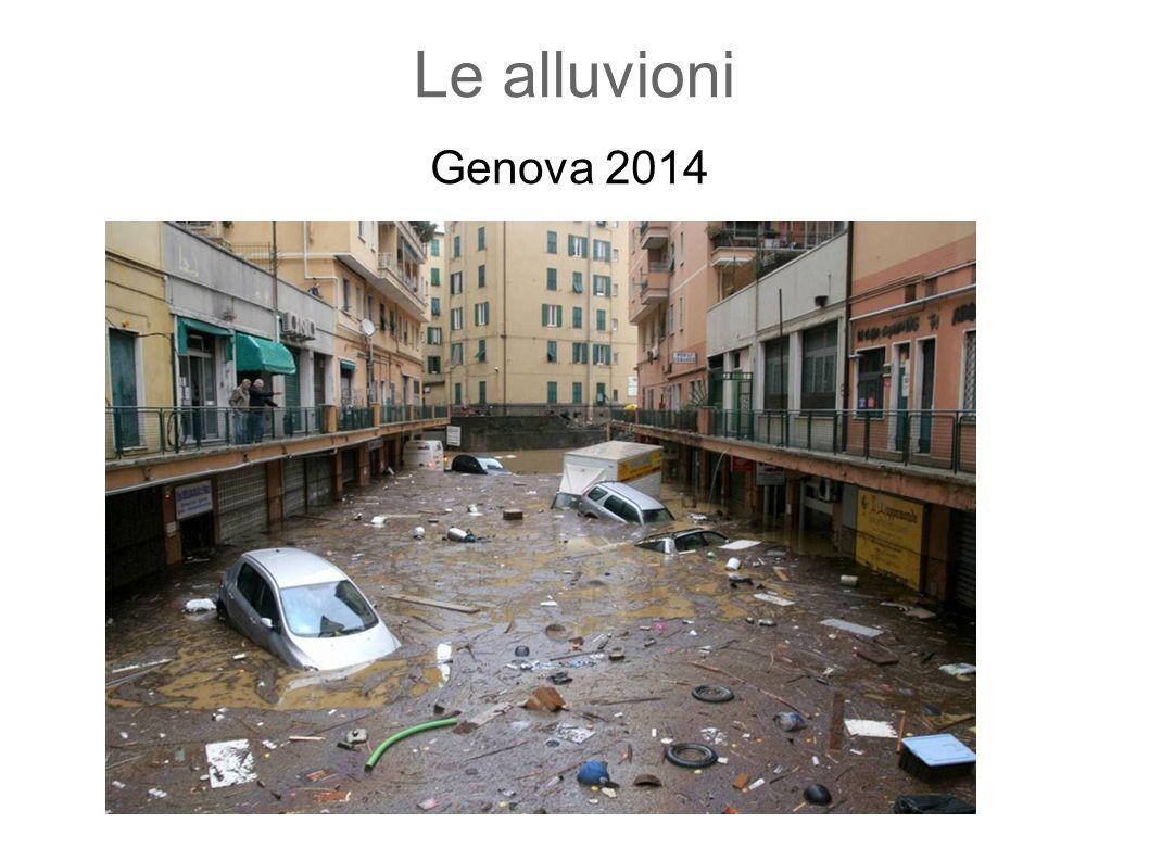 Le alluvioni Genova 2014