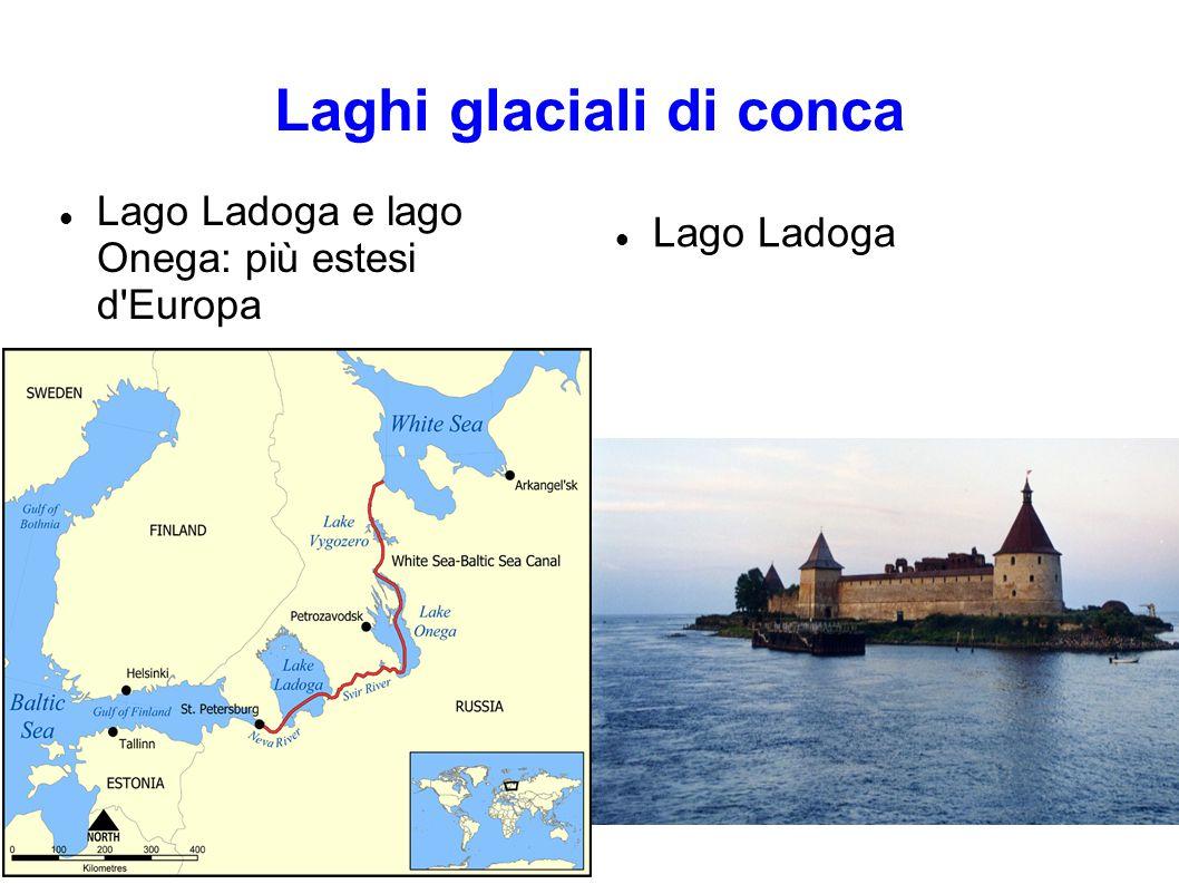 Laghi glaciali di conca