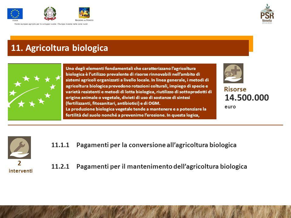 11. Agricoltura biologica