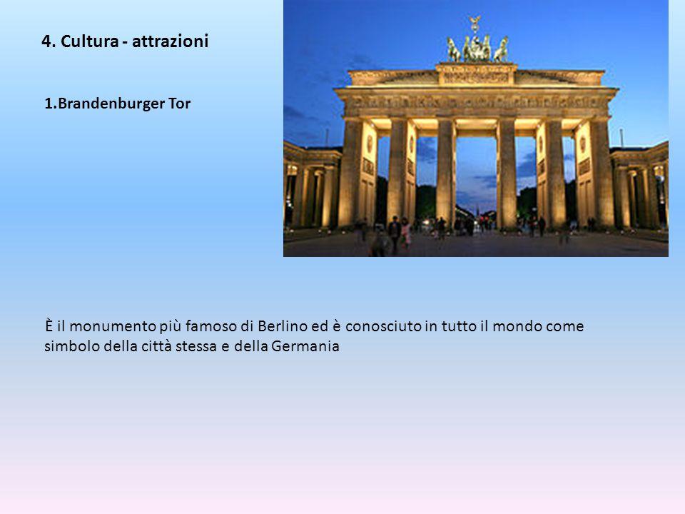 4. Cultura - attrazioni Brandenburger Tor