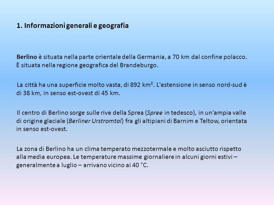 1. Informazioni generali e geografia
