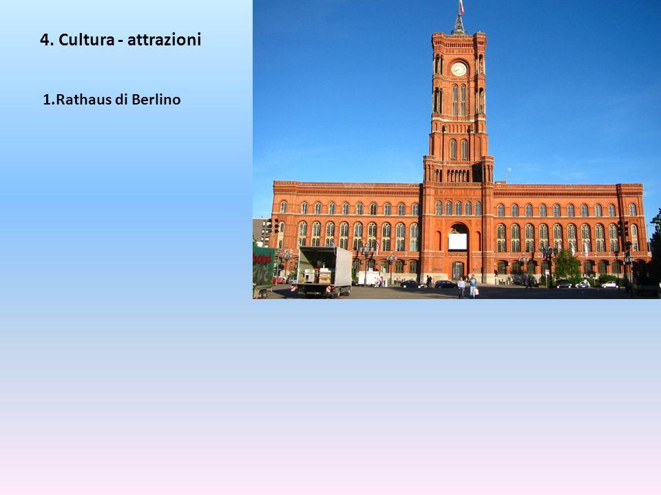 4. Cultura - attrazioni Rathaus di Berlino