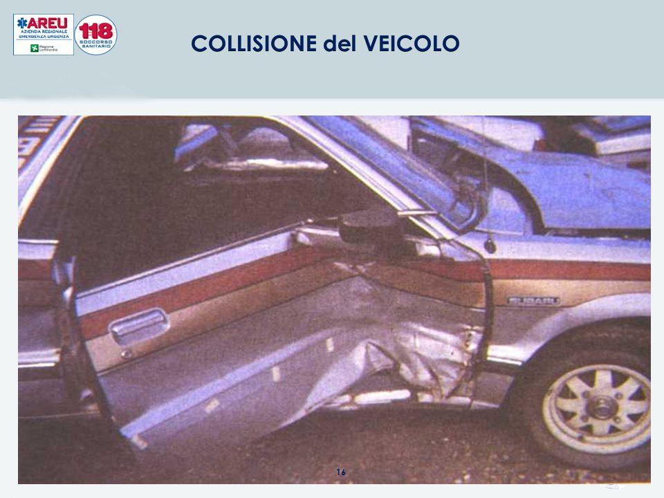 COLLISIONE del VEICOLO